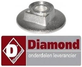 920.672.050.00 - Branderkop voor branderdeksel ø 61mm gasfornuis DIAMOND G65/4F7T