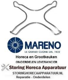 00886400 - Verkleinrooster L 265mm B 265mm RVS passend voor gasfornuis universeel MARENO