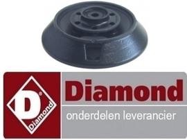 116163254 - Branderkop voor branderdeksel ø 140mm 8kW voor fornuis DIAMOND