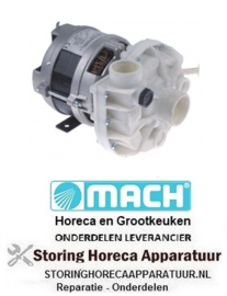 711500038 - Waspomp voor vaatwasser MACH ingang ø 45mm uitgang ø 40mm