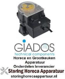 654361525 - Doseerpomp naglans GIADOS frequentieregeling 0,4l/h 230VAC naglansspoelmiddel slang ø 4x6mm