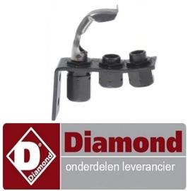 783RTCP800034  - Waakvlambrander gas bakplaat DIAMOND G99/PLCA2-N