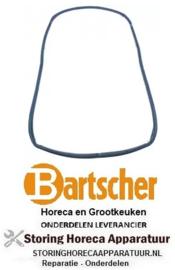 499901178 - Deurrubber B 680mm met 12 gaten L 330mm serie tot 03/2013 voor oven BARTSCHER