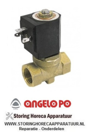 "0243120100 - Magneetventiel 2-weg 230VAC aansluiting 3/8"" L - ANGELO-PO"