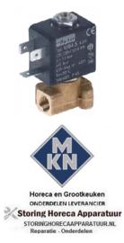 557370749 - Magneetventiel 2-weg 230VAC voor MKN