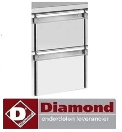 012K1/2-L - Set 2 ladenblok (1/2+1/2 h200) voor TG&TS DIAMOND
