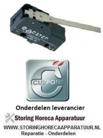 772345125 - Microschakelaar met hendel CUPPONE PIZZAFORM P/33 EN DE P/45