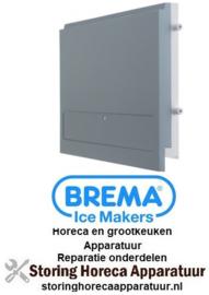 178695510 - Deur voor ijsblokjesmachine B 293mm H 182mm dikte 24mm BREMA