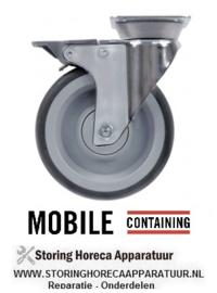 405701286 - Zwenkwiel met  rem Mobile-Containing