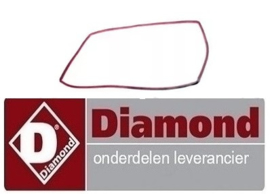 77809988078000 - OVEN DEURRUBBER VOOR DIAMOND MAXI64H-C5FV6