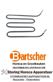 233419013 - Verwarmingselement 1000W 230V contactgrill BARTSCHER