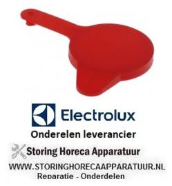 437551438 - Afsluitdop voor chemiebak rood passend voor combi-steamer ELECTROLUX