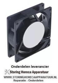 965.6010.55 - Axiaalventilator 230VAC 50/60Hz 14,5/14W lager kogellager