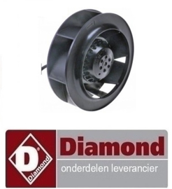 61730631 - VENTILATOR VOOR VERDAMPER DIAMOND TGVN