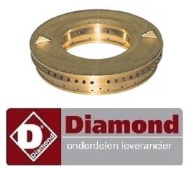 126.672.093.00 - Branderdeksel 7 kw gasfornuis DIAMOND G11/6BA12