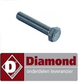 2660800016 - BOUT INOX M8 X 40 DIAMOND P700