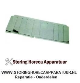 ST1533103 - Gordijn naspoeling vaatwasser 620 x 250 mm