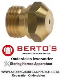 221106440 - Gasinspuiter aardgas voor bakplaat G7FL8B-2 BERTOS