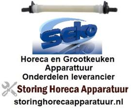 981361238 - Pompslang SEKO wasmiddel slang ø 6x10mm slanglengte 135mm slang ø 6mm slangtype I