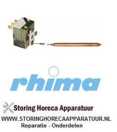 43551000005 - Boiler-wastankthermostaat 0-90ºC RHIMA DR60i