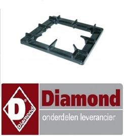 265681.019.00 - Branderrooster B 400mm L 400mm passend voor serie 900 DIAMOND G65/1F4T