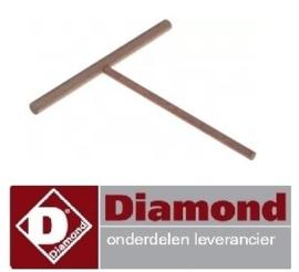 451F.050.17 - Deegverdeler voor crepe pannenkoekenplaat DIAMOND BRET/2E-R