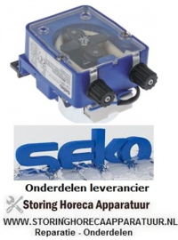 3612.090.38 - Doseerapparaat SEKO frequentieregeling 3l/h 230 VAC vloeibaarwasmiddel