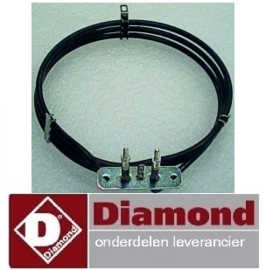 4696.65.093.00 - Verwarmingselement heteluchtoven DIAMOND CGE11