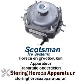 247601427 - Ventilatormotor ELCO 10W 230V 50/60Hz lager glijlager voor ijsmachine SCOTSMAN