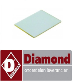 125C6073C-00 - GLAS VOOR LAMP HOUDER DIAMOND DFV-423/S