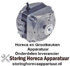 887601757 - Ventilatormotor 10W 230V 50/60Hz L1 43,5mm L3 82mm B 67mm kabellengte 1500mm 1300/1550U/min EBM-PAPST