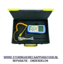 ST1800123 - Temperatuurmeterset PEAK TECH 5110 draad-, insteekvoeler meeteenheid °C/°F