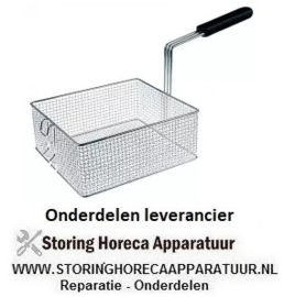 508970374 - Friteusekorf staal verchroomd Forved, Sicomex, Snack Express