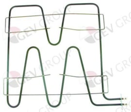 416092- Verwarmingselement 2740W 400V L 500mm B 485mm L1 68mm L2 430mm B1 450mm B2 32mm flens L 70mm