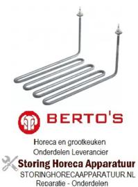618416007 - Verwarmingselement 3500W 230V voor Bertos Friteuse