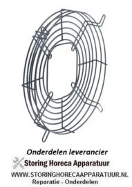 905601.738 - Beschermrooster voor ventilatorblad ø 170 mm ø 216 mm H 30 mm