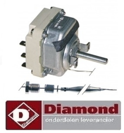 622.661.041.00 - Thermostaat t.max. 195°C DIAMOND FRITEUSE E60