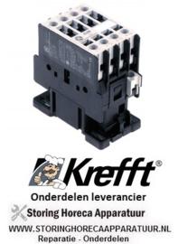 3613.02805.08 - Relais AC1 32A 230VAC (AC3/400V)  combi-steamer KREFFT OVEN GG10.11NT