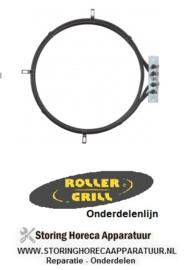 114420087 - Verwarmingselement 6000W - 240V  ROLLER-GRILL