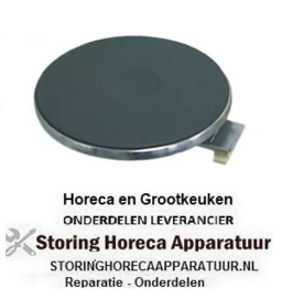 037490015 - Kookplaat ø 180 mm - 1500W - 400 Volt