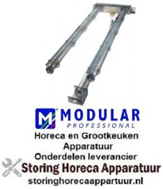 212104004 - Staafbrander 2-rijen L 620mm B 200mm lavasteengrill MODULAR