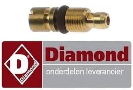 471100530 - Klein branderinspuiter voor flessengas propaan lavasteengrill DIAMOND G60/GPL3T
