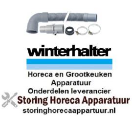 827502143 - Afvoerslang DN32 L 1600mm recht voor Winterhalter