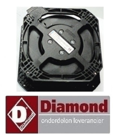 23240701044 - VENTILATOR CONDENSOR  DIAMOND CBT31/PM