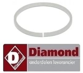 2363.030.37 - Pakkingring voor wasarmhouder DIAMOND DK7-2 / Sn:205669 - ST805BE