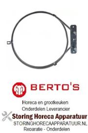 998418133 - Verwarmingselement 2000W 220V voor Bertos oven