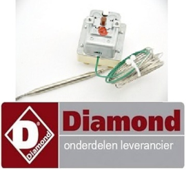 VE966375258 - Maximaalthermostaat uitschakeltemp. 232°C 3-polig voor friteuse DIAMOND E77/F26A7-N