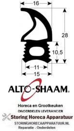 269902511 - Deurrubber 561mm L 623mm buiten steekmaat met 4 gaten ALTO-SHAAM