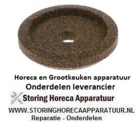 183697568 - Slijpsteen ø 42mm dikte 8,5mm boring ø 8mm korreling crica met fase, zonder naaf