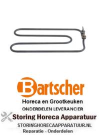 427416067 -Verwarmingselement 1380W 230V voor BARTSCHER BAINMARIE